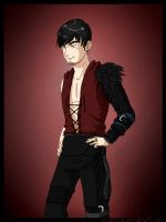 TDA Challenge - Male Morrigan by SelphieSK
