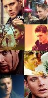 Dean Winchester Collage 5 by dfueg27