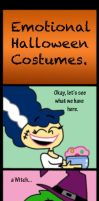 Emotional Halloween Costumes by Cookie-Lovey