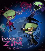 Invader Zim Movie Poster by kamy2425