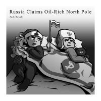 Russia Claims North Pole by whimsycatcher