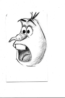 Olaf Expressions by Eleanor-Anne6