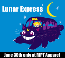 Lunar Express at RIPT June 30th by machmigo