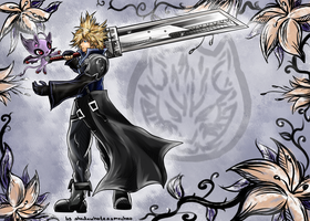 CM: Cloud Strife and Temporal Wallpaper by shadowhatesomochao