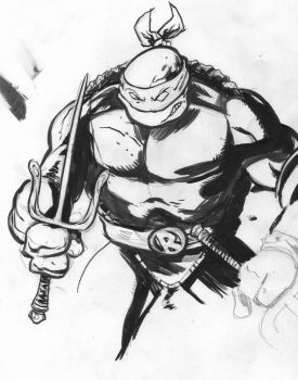 Raph sketch by AtomicAgeEthan