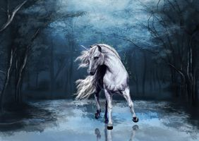 Unicorn by Mely-Val