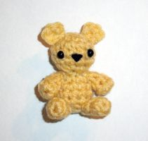 Chevy the Cornmeal Teddy Bear by happysquidmuffin