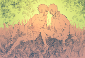Formula of Life - Sasuke and Naruto by Atrika