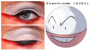 Pokemakeup 101 Electrode by nazzara
