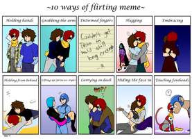 Flirting meme by General-RADIX