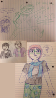 Assorted Doodles by IrrelevantFrenchFry