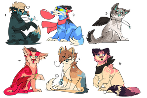 Adopts Auction: OPEN by RedAut-Adopts