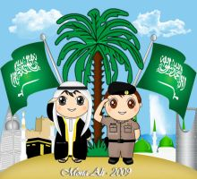 Saudi national day by Noomy