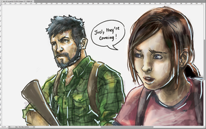 The last of us speed paint by Ghirik
