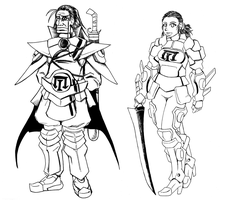 Verboten Character Studies 4 by HolyLancer9