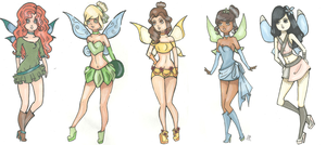 Disney winx 3 by Aii-Cute