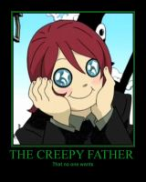 The creepy father by deathgirl88