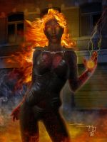 Fire from within... by Erulian