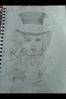 Mad Hatter by EternalArtGirl740