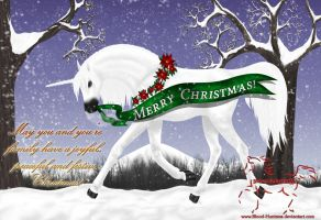Merry Christmas 2010 by Blood-Huntress