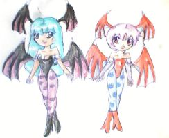 succubus sisters by ninpeachlover