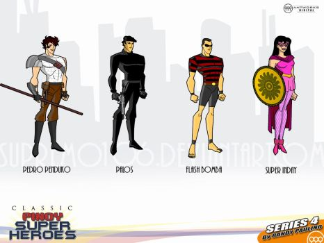Classic Pinoy Superheroes IV by antworksdigital