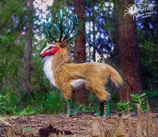 Great Forest God - Art Doll by Escaron