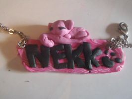 nekko necklace by so1what1i1am1myself