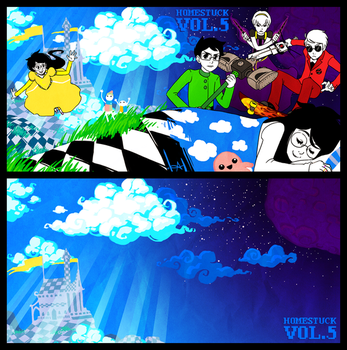 Homestuck Vol 5 by lexxercise