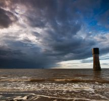 Watching the Storm by taffmeister