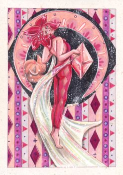Pink Diamond: Death in Pink by PeaceMakerSama