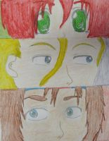 The Trio eyes by lilburi4ever