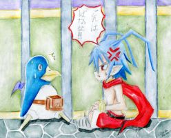 Disgaea: Staring Contest by alexpharoa
