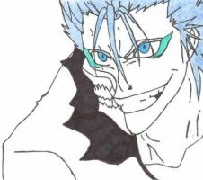 Grimmjow Jeagerjaques by ninjainthemud