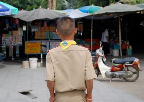 Boy scout, Thailand by dpt56