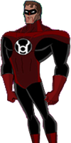 Red Lantern Hal Jordan new by Azraeuz