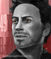 happy 49th B-Day Robert Downey Jr by wakana-sakamoto