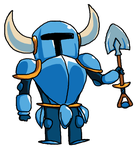 Shovel knight by Torn-apart-paper