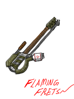 Guitar Flamethrower Thing by ModalMechanica