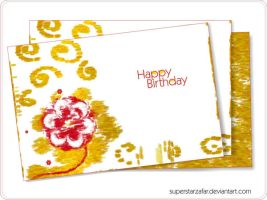 Birthday card for a friend by Designbolts