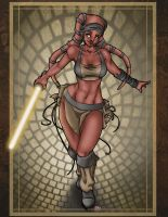 Jedi Girl by sebastianhaze