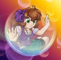 Bubble Child - Riana by Wazaga