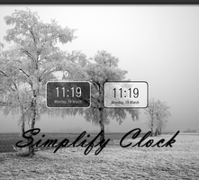 Simplify Clock by IndruAndrei