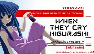 When They Cry - Higurashi Should Be on Toonami by KingdomHeartsENT