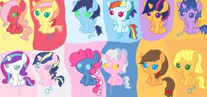 MLP Shipping Adopts by X-Snowflake-Frost-X