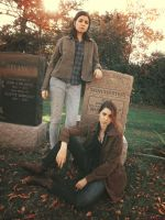 Cemetary Blues [Supernatural Cosplay] 2 by gardenofmoons