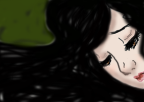 Drawing Lucinda Price from Fallen by Felixuta