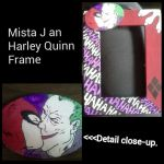Joker and Harely Quinn Picture Frame by Madre-suicide