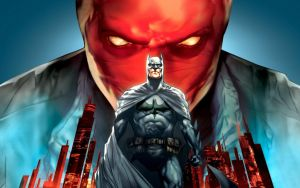 Batman Under the Red Hood Wallpaper by War-Peace
