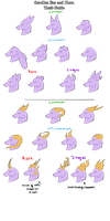 Scrollus Ear and Horn Traits by SpookyBjorn